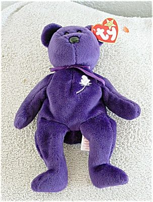 Princess Bear Beanie Baby