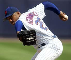 El Duque (Orlando Hernandez) New York Mets