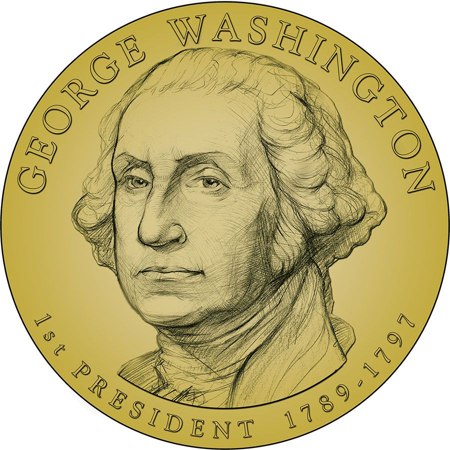 Presidental Dollar George Washington