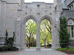 Princeton University arches