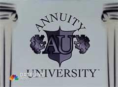 Dateline: Annuity University