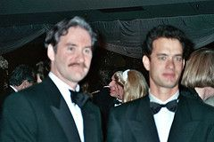 Kevin Kline and Tom Hanks