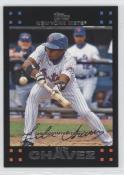 Endy Chavez 2007 Topps baseball card