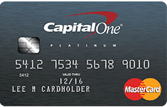 Captial One Secured Mastercard