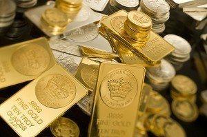 Gold Bars Money