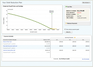Quicken 2012 Debt Reduction Planner