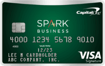 Capital One Spark Cash for Business 210x132