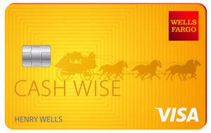 Wells Fargo Cash Wise Visa credit card