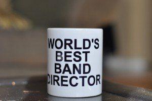 World's Best Band Director mug