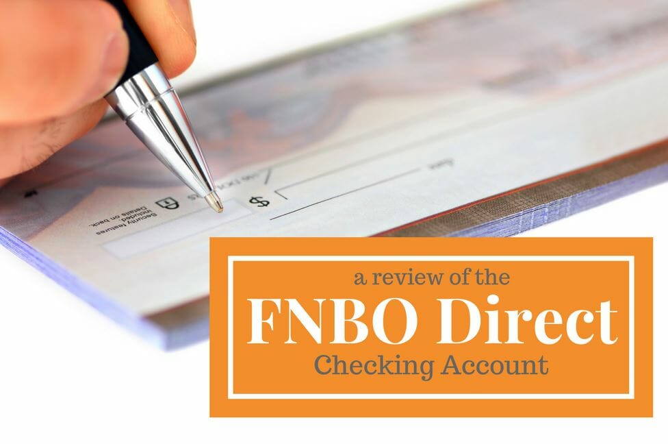 FNBO Direct checking