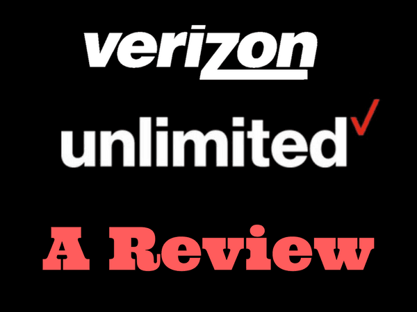 Verizon Wireless Unlimited Data Plan