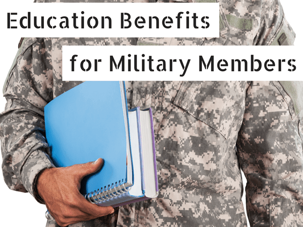 Education benefits for the military