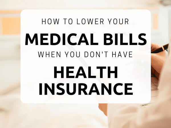 Lower your medical bills