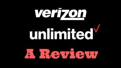 Verizon Unlimited Data Plan Review - Consumerism Commentary