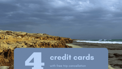 credit cards with trip cancellation insurance