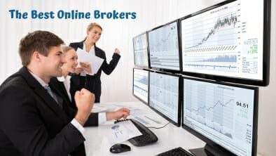 Top 10 online discount brokers for stock and options trading